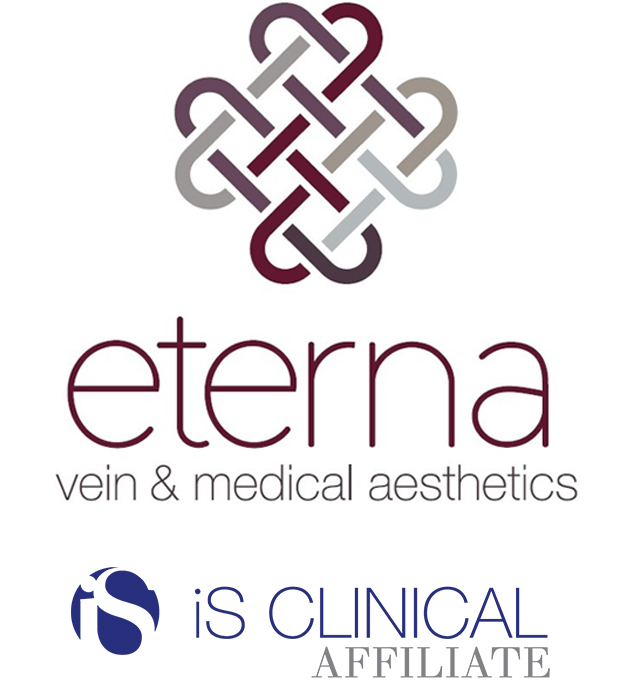 Eterna and iS CLINICAL Affiliate Logos